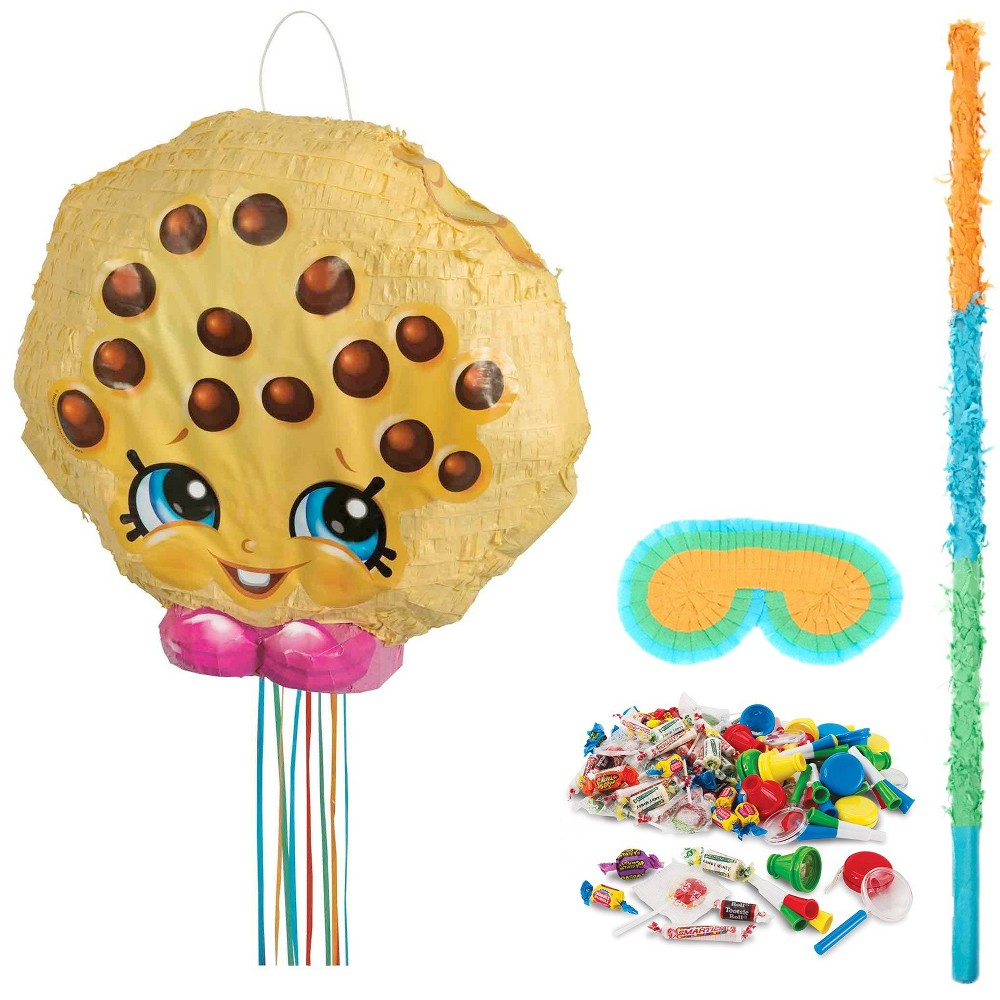 Shopkins Pinata Kit, Multi-Colored