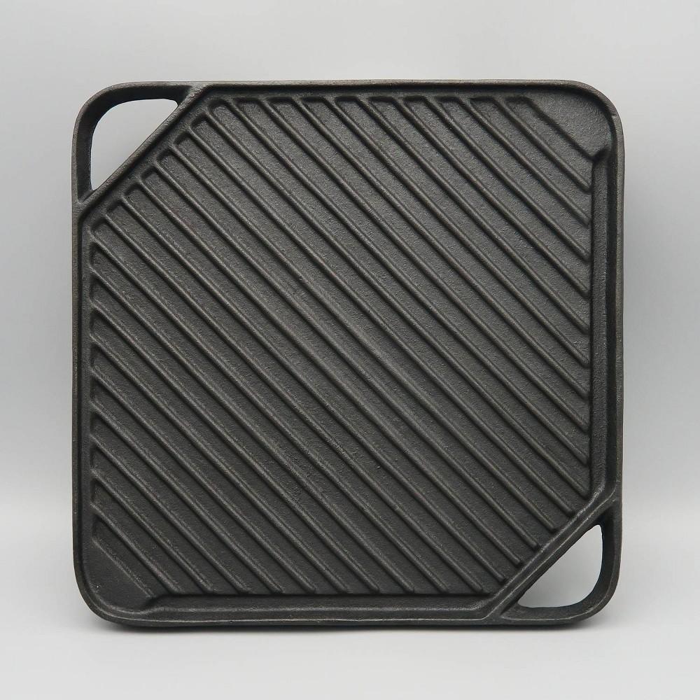 Image of Reversible Cast Iron Griddle Black - Mr. Bar-B-Q