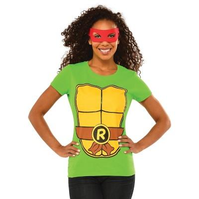 Rubies Teenage Mutant Ninja Turtles Raphael Adult T-Shirt Kit