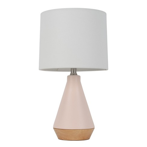 Modern Tapered Ceramic Table Lamp Light Pink Only Project 62
