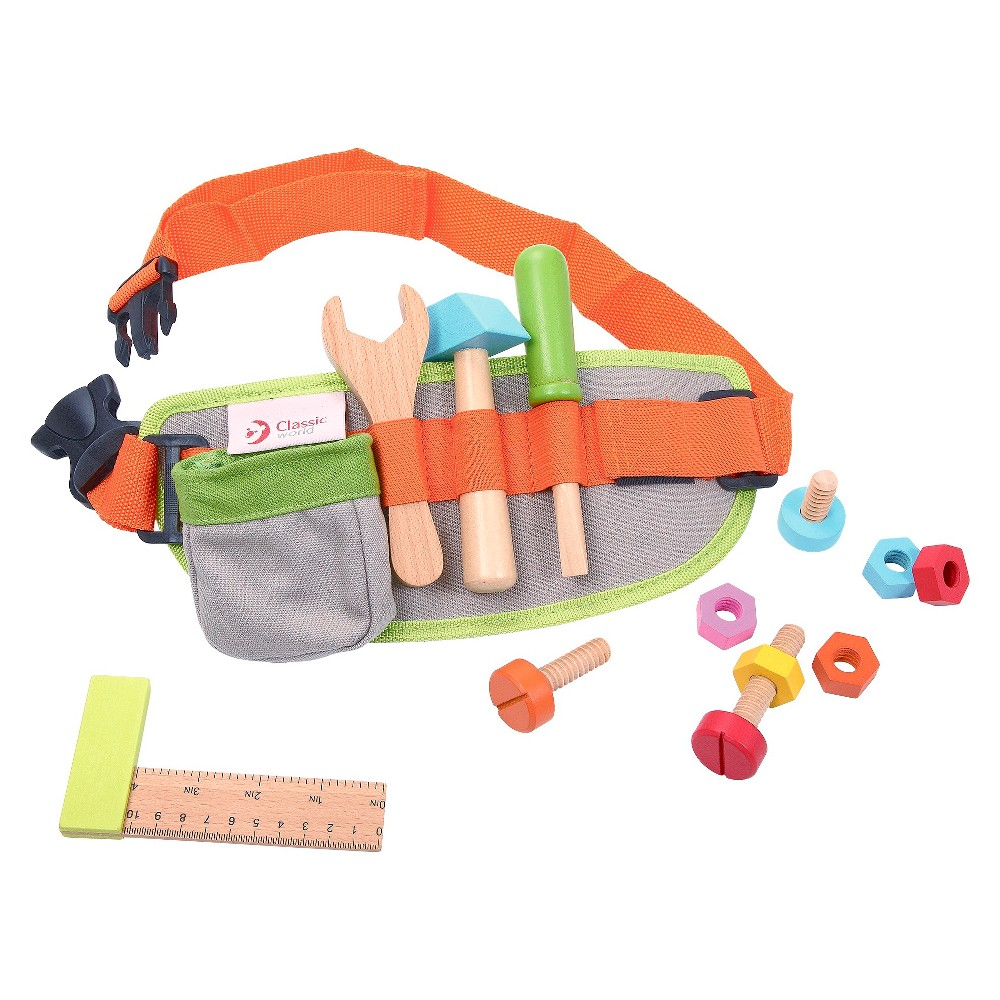 Classic Toys Tool Belt, toy tools