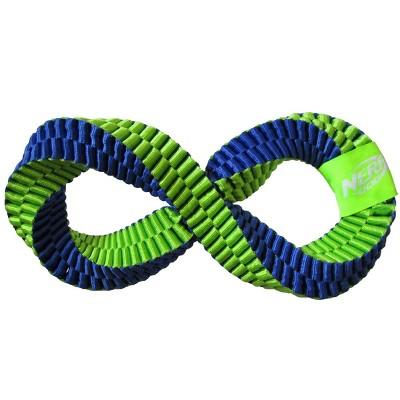 NERF Nylon Braided Twisted Infinity Tug Dog Toy