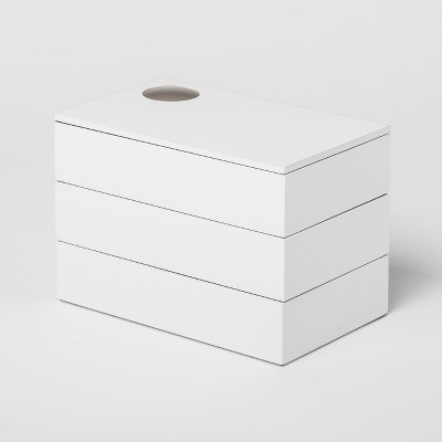 Spindle Jewelry Storage Box White - Umbra