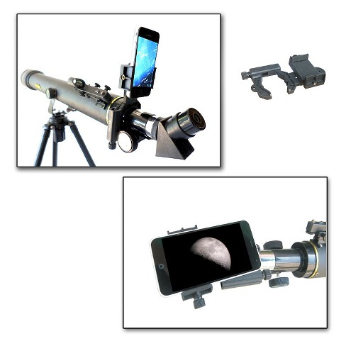 Galileo SmartPhone Optics Adapter - Black - image 1 of 2