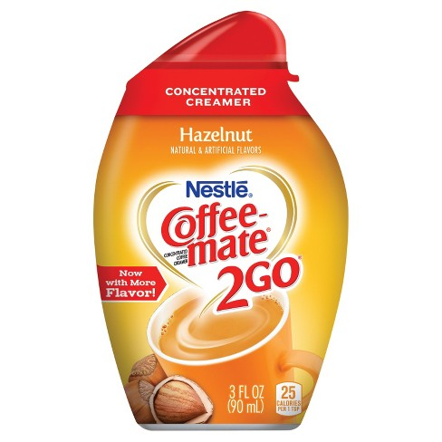 Nestle Coffee Mate 2 Go Hazelnut Concentrated Coffee Creamer - 3oz - image 1 of 5