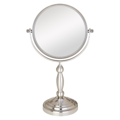 Zadro Two-Sided Swivel Vanity Mirror - 1X & 10X Magnification