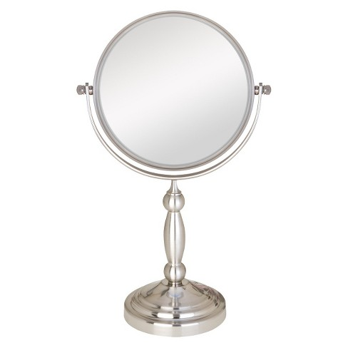 Zadro Two-Sided Swivel Vanity Mirror - 1X & 10X Magnification - image 1 of 1