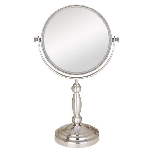 Zadro Two Sided Swivel Vanity Mirror 1x Amp 10x