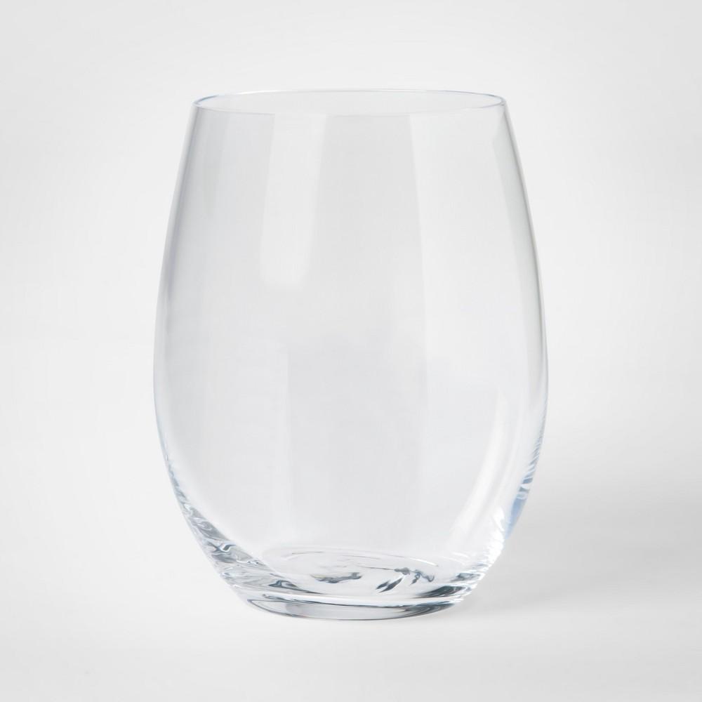 Bellavista Stemless Wine Glasses 15.5oz - Set of 4 - Project 62