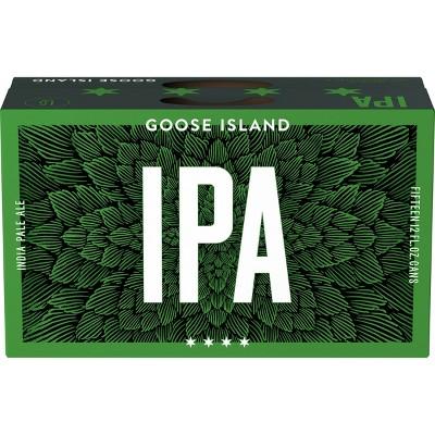 Goose Island IPA Beer - 15pk/12 fl oz Cans