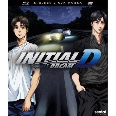INITIAL D LEGEND 3-DREAM (BLU-RAY/2 DISC) (Blu-ray)