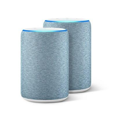 Amazon Echo (3rd Gen)Twilight Blue - 2 Pack
