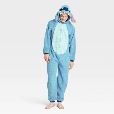 Men's Disney Lilo & Stitch Union Suit - Blue