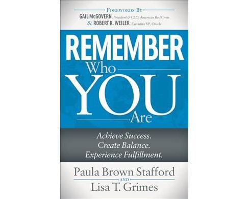Remember Who You Are : Achieve Success. Create Balance. Experience Fulfillment. -  (Paperback) - image 1 of 1
