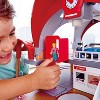 Hape Grand City Themed Magnetic Kids Play Freight Train Railway Station Toy Set with Electronic Features, Tax, and Bus - image 3 of 4