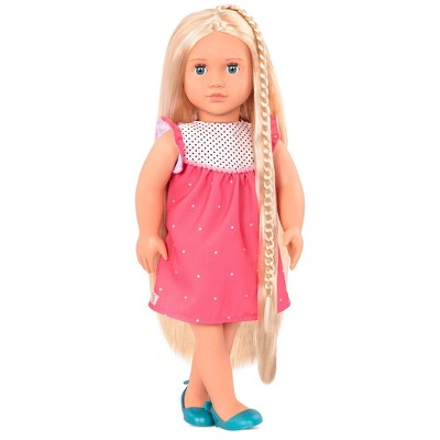"""Our Generation 18"""" Hair Play Doll with Extendable Braids - Hayley"""