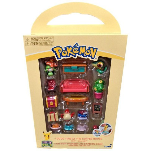 Pokemon Petite Pals Good Time at the Coffee House Playset [Snivy and Lilligant] - image 1 of 2