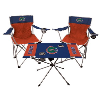 NCAA Rawlings Tailgate Kit - 2 Chairs and Endzone Table Florida Gators