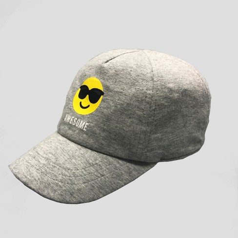 b835453b72f Baby Boys  Jersey Baseball Hat - Cat   Jack™ Gray 12-24M   Target