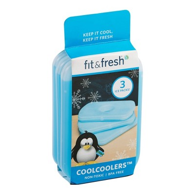 Fit & Fresh Cool Coolers Ice Pack - 3pc