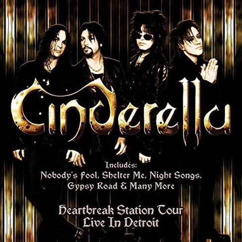 Cinderella - Heartbreak Station Tour:Live In Detro (CD) - image 1 of 1