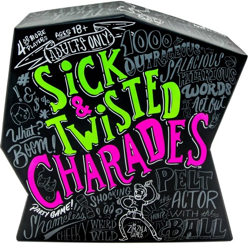 Sick & Twisted Charades Board Game - image 1 of 4