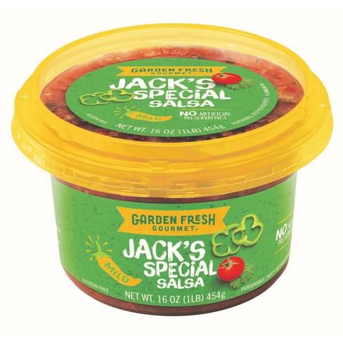 Garden Fresh Gourmet Jack\'s Special Mild Salsa - 16oz : Target