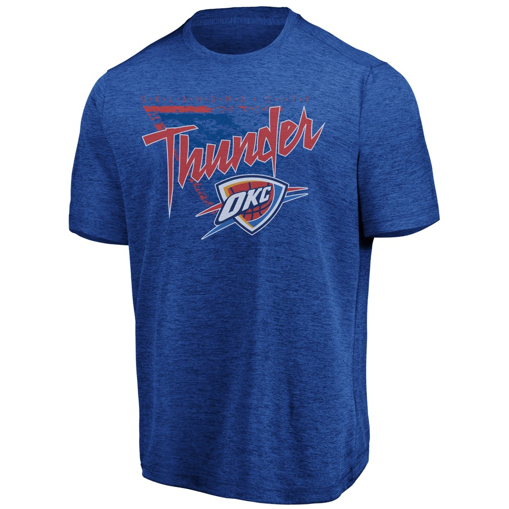 Oklahoma City Thunder Men's Hype It Up T-Shirt XL, Multicolored
