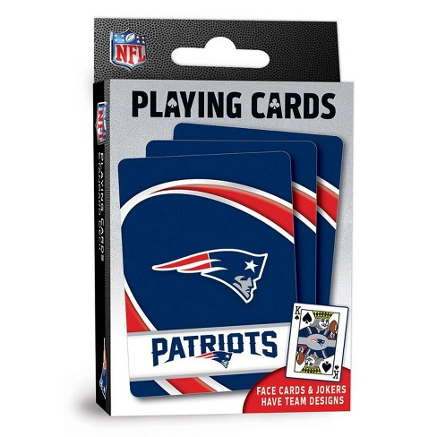 NFL New England Patriots Playing Cards - image 1 of 4