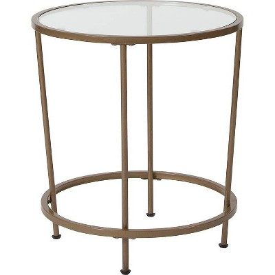 Astoria End Table Gold - Riverstone Furniture