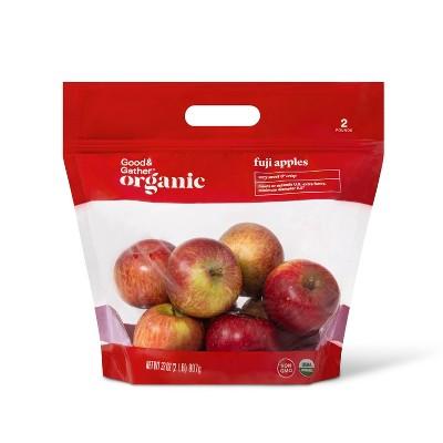 Organic Fuji Apples - 2lb Bag - Good & Gather™