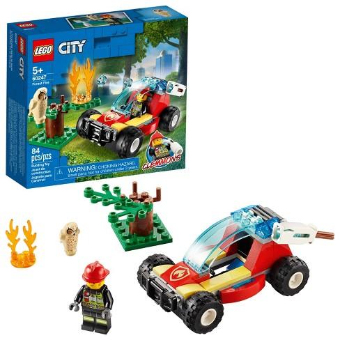 Lego City Forest Fire Firefighter Building Set 60247 Target