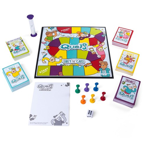Quelf Board Game Target