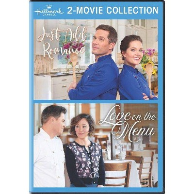 Hallmark 2-Movie Collection: Just Add Romance / Love On The Menu (DVD)(2021)