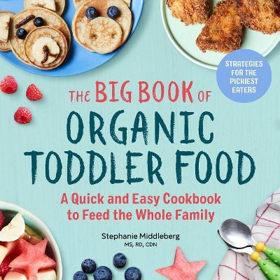 The Big Book of Organic Toddler Food - by Stephanie Middleberg (Paperback)