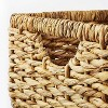 """13"""" x 11"""" Chunky Cube Woven Basket Natural - Threshold™ designed with Studio McGee - image 3 of 4"""