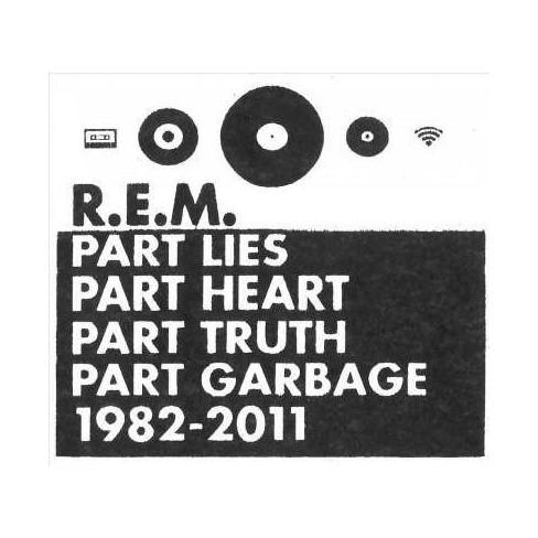 R.E.M. - Part Lies, Part Heart, Part Truth, Part Garbage: 1982-2011 (2 CD) - image 1 of 1
