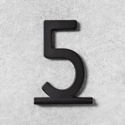 5 House Number Black - Hearth & Hand™ with Magnolia