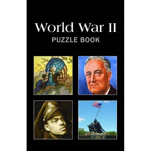 World War II Puzzle Book - (Paperback) - image 1 of 1