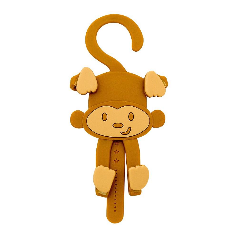 Image of Buggygear - Grippy Smart Phone Holder - Monkey, White