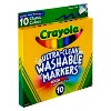 Crayola 10ct Washable Broad Line Markers - Classic Colors - image 2 of 3