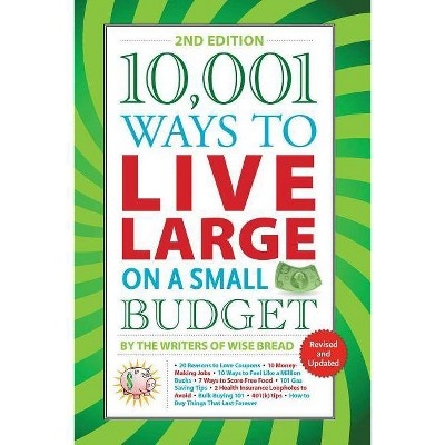 10,001 Ways to Live Large on a Small Budget - 2nd Edition (Paperback)
