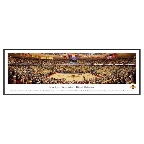 NCAA Blakeway Basketball Arena View Framed Wall Art - Standard Frame - image 1 of 2