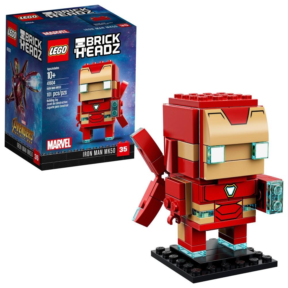 Lego Disney Marvel Iron Man MK50 41604