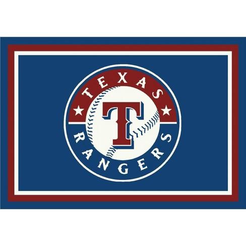 "MLB Texas Rangers 8""x11"" Spirit Rug - image 1 of 3"