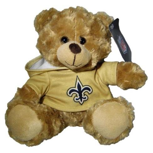 """NFL New Orleans Saints 9"""" Hoodie Bear - image 1 of 1"""