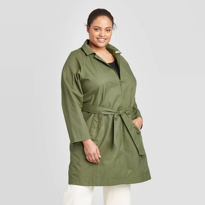 Ava & Viv Women's Plus Size Anorak Jacket