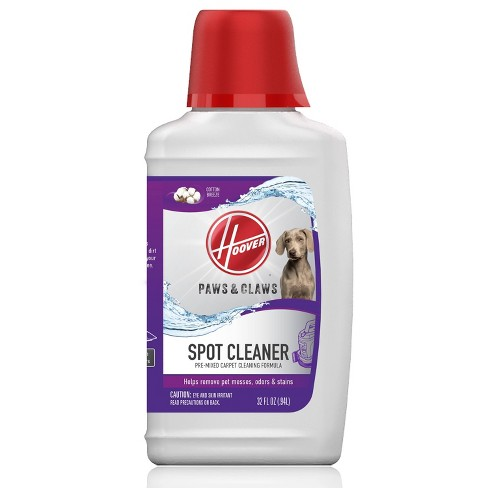 Hoover Paws & Claws Premixed Spot Cleaner Solution Formula and Odor Remover for Pets 32oz - image 1 of 4