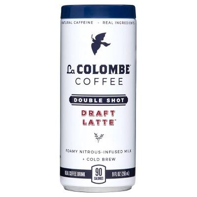 La Colombe Double Shot Draft Latte - 9 fl oz Can