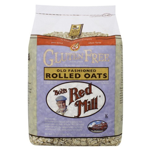 Bob's Red Mill Gluten Free Old Fashioned Rolled Oats - 32oz - image 1 of 3